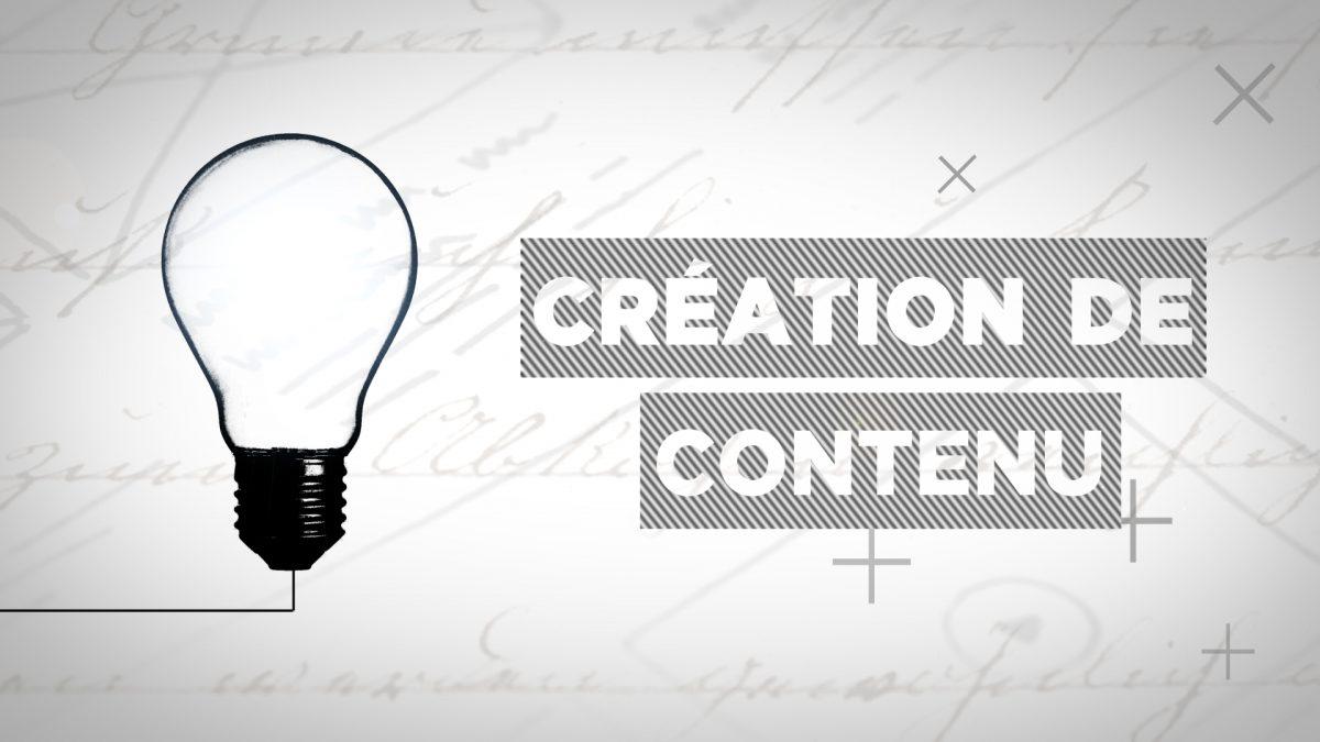 VK Création de contenu.
